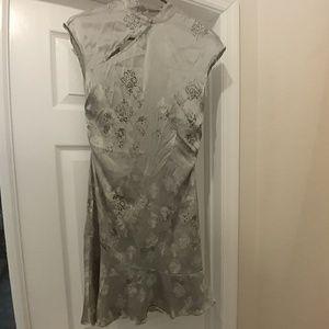 Guess silk oriental dress